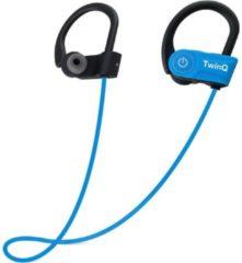 TwinQ Draadloze In-ear Bluetooth Sport Oordopjes - Voor hardlopen of fitness - Blauw