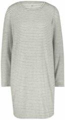 HEMA Damesnachthemd Grijsmelange (grijsmelange)
