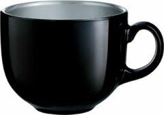 Luminarc Flashy Jumbobeker Zwart 50 cl - Glas (Set van 6) En Yourkitchen E-kookboek - Heerlijke Smulrecepten