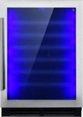 Roestvrijstalen Le Chai CHROMA540 - Elektrochromatische wijnklimaatkast - 54 Flessen - 1 Temperatuur