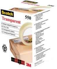 Scotch® Transparante Tape, Individueel Flowpack + Toren, 19 mm x 66 m, 8 Rollen/Pak