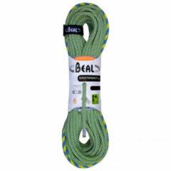 Beal - Booster III 9,7 mm - Enkeltouw maat 60 m groen/geel/grijs