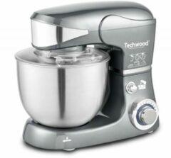 Roestvrijstalen Techwood - Keukenmachine TRO-1058 - Staande mixer - 1000 Watt