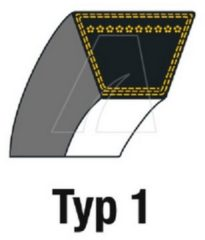 MTD Keilriemen:V (9,5 x 793) für Rasenmäher
