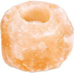 Oranje Yogi & Yogini Zoutkristal Sfeerlicht (Model 2)