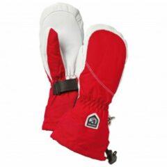 Hestra - Women's Heli Ski Mitt - Handschoenen maat 5 rood/grijs