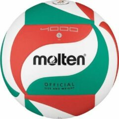 Rode Molten Volley Ball 5 WhiteGreenRed