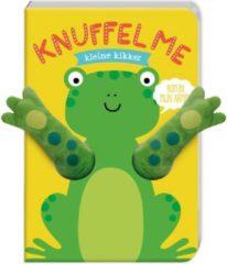 Image Books Boek - Knuffel me - Kleine kikker - Met vingerpopfunctie