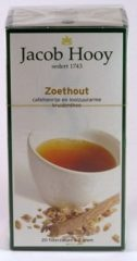 Jacob Hooy Zoethout thee 20 Stuks
