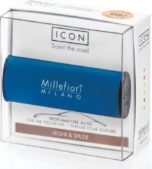 Blauwe Millefiori Milano Auto Parfum Legni & Spezie (classic)