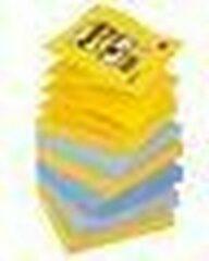 Post-it Super Sticky Z-Notes 76 x 76 mm New York Kleuren 6 Blokken van 90 Vellen
