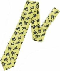 Gele Nintendo Pokémon - Pikachu Silhouette Necktie