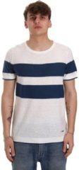 Beige T-shirt Korte Mouw Gaudi 011BU53023