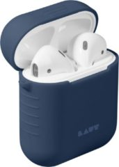 Blauwe Laut POD Slim Silicon Case for AirPods blue