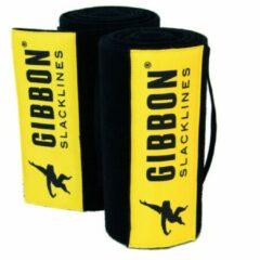 Gibbon Slacklines Gibbon - Tree Wear XL - Slackline maat 2 x 200 cm zwart/geel