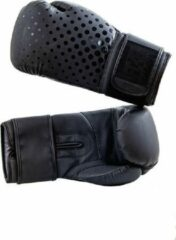 Hybride bokshandschoenen BXR | matzwart | 12 oz