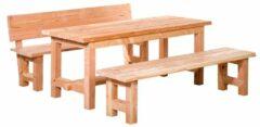 Van Kooten Tuin en Buitenleven Douglas tafel Tiemen 80x80x200 cm