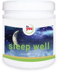 FOR YOU sleep well Drink Joghurt-Kirsche Pulver
