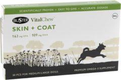 Buster VitalChew Skin & Coat - M/L - 30 stuks