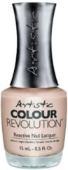 Taupe Artistic Nail Design Colour Revolution Posh
