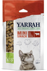 Yarrah Biologische mini snack voor katten 50 Gram