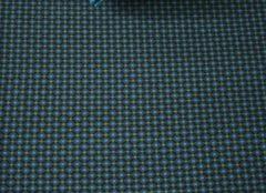 Blauwe Pip Studio hoeslaken Cross Stitch dark blue - 90x200 cm