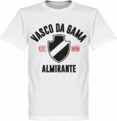 Retake Vasco De Gama Established T-Shirt - Wit - XS