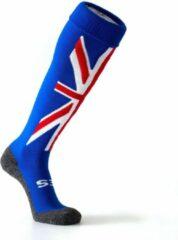 Blauwe Nes Hockeykousen United Kingdom- Funkousen- Voetbalkousen- Sportkousen - Maat 41-44