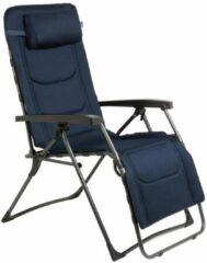 Marineblauwe Redwood Emerald Relaxchair - Relaxstoel- Inklapbaar