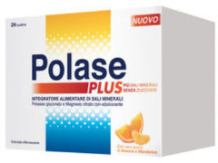 Pfizer Polase Plus magnesio e potassio gusto arancia e mandarino 24 bustine
