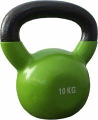 Kettlebells 10 kg gietijzer - Groen | 1 stuk | Mambo Max | Gietijzer