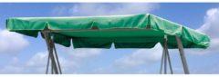 Ersatzdach Universal Hollywoodschaukel Grün Ersatz-Bezug Sonnendach Dachplane Grasekamp Grün