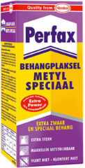 Transparante Dutch Wallcoverings Perfax Behanglijm Metyl Speciaal Extra Zwaar en Speciaal behang - 200 g