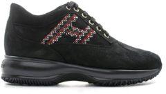 HOGAN Sneakers Trendy donna nero/rosso