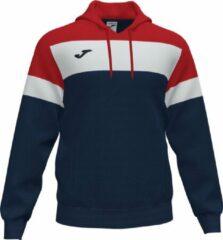 Marineblauwe Joma Crew IV Sweater Met Kap Heren - Marine / Rood / Wit   Maat: M