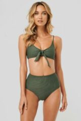Groene NA-KD Swimwear Bikinibroek - Green