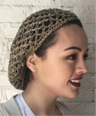 Zwarte Dream World Dream Grandma's Original Thick Hair Net