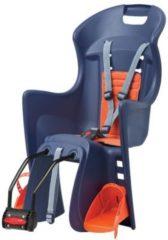 Polisport Kindersitz Boodie FF, blau/orange, Rahmenbefestigung