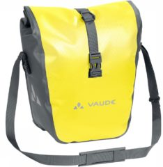Vaude - Aqua Front - Bagagedragertas maat 28 l, geel/grijs
