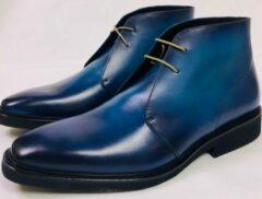 Blauwe Merkloos / Sans marque Heren laarsje half hoog maat 45