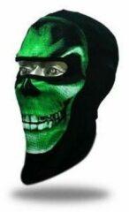 Groene Facemasks Green Skull - Bivakmuts