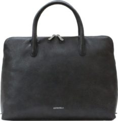 Grijze Gigi Fratelli Romance A4 laptop bag smoke