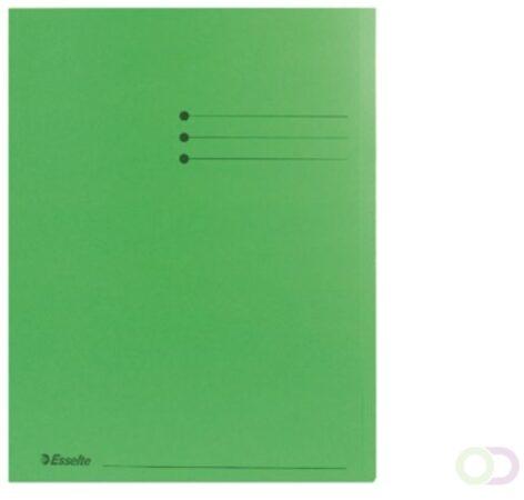 Afbeelding van Groene Esselte Cardboard Folder groen 180 g/m2 (2013408)