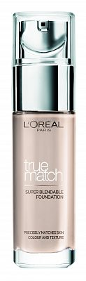 Afbeelding van L'Oréal Paris LOreal Paris Cosmetics True Match Foundation 30 ml - 2N Vanilla