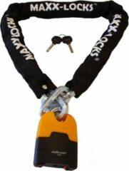 Zwarte Maxx-Locks Ohura Motorslot / Scooterslot ART 4 - Kettingslot 120cm