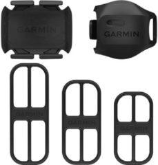 Zwarte Garmin Snelheidssensor 2 en Cadanssensor 2 Fietscomputer - Documentatiebandjes - Bevestigingsbandjes