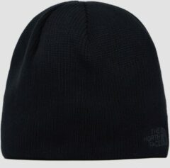 Zwarte The North Face Bones Recyced Beanie Unisex Muts - Tnf Black - One Size