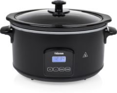 Tristar VS3920 Digitale Slowcooker 4,5L 210W Zwart/RVS