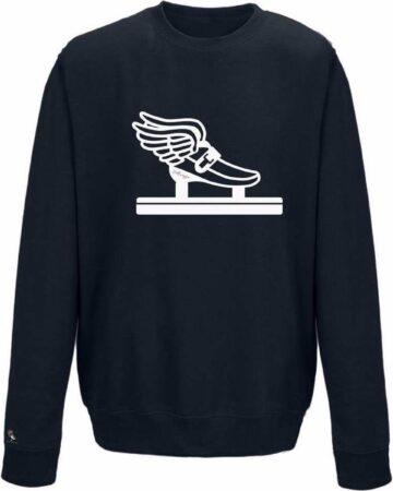 Afbeelding van Blauwe Schaats sweater shorttrack Pattinaggio