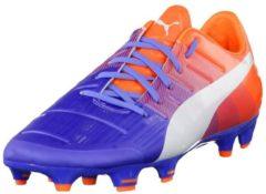 Dynamische Fussballschuhe evoPOWER 2.3 FG 103528-01 40 mit Griptex Puma blue yonder-puma white-shocking orange